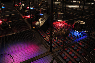 Theatre 2 - View from overhead lighting platform